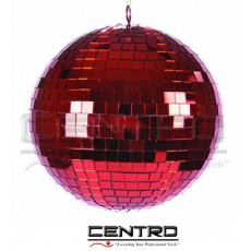 Red Mirror Ball